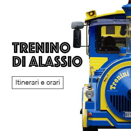 trenino di Alassio
